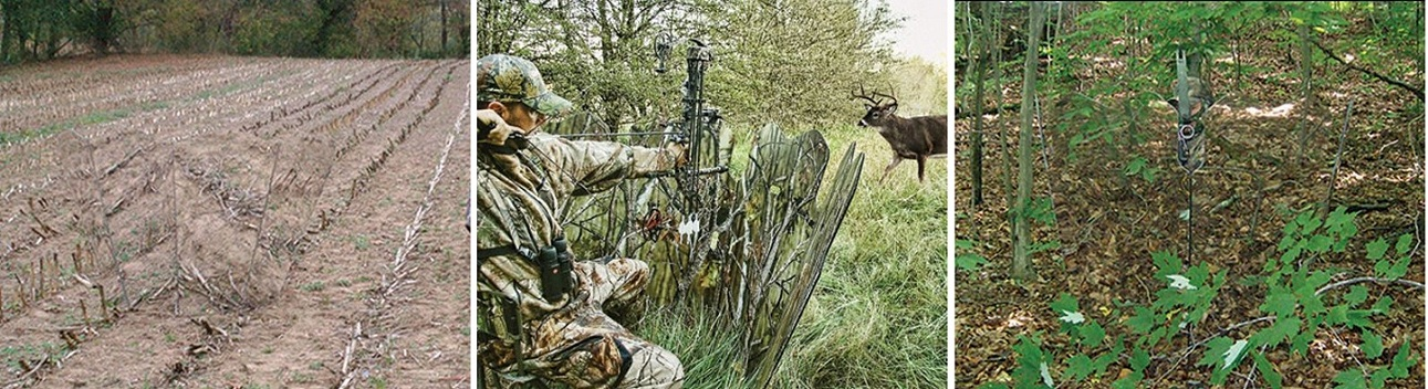 New ghost blind predator hunting 4 panel bow crossbow gun for Mirror hunting blinds