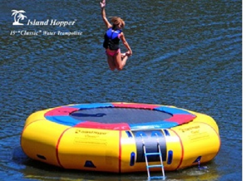 Island Hopper 15'PVCTUBE Classic 15' Padded Water Trampoline w/ Warranty at Sears.com