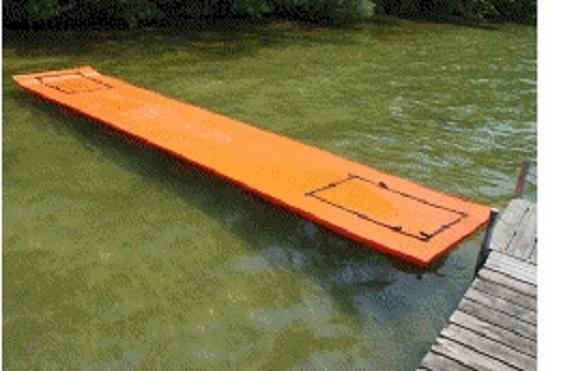 WaterMat Professional Floating Platform Lake River Boat Pontoon Toy Warranty at Sears.com