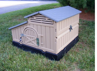 New snap lock formex standard size maintenance free 42 x for Maintenance free chicken coop