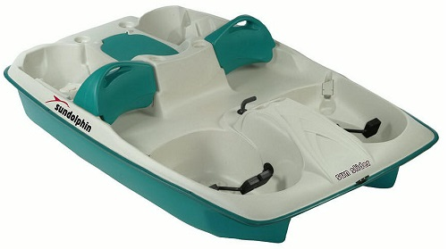 Sun Dolphin AQUA Sun Slider Adjustable 4 Seat Lounger Pedal Boat w/ Warranty at Sears.com