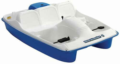 Sun Dolphin BLUE Water Wheeler 5 Seat UV-Stabilized Pedal Boat w/ Warranty at Sears.com