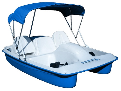Sun Dolphin BLUE Water Wheeler ASL 5 Seat UV-Stabilized Pedal Boat w/ Canopy at Sears.com