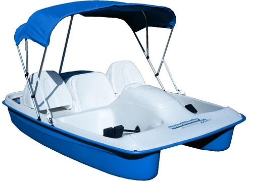 Sun Dolphin BLUE Water Wheeler Electric ASL 5 Seat Pedal Boat w/ Warranty at Sears.com