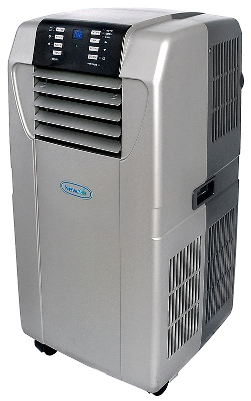 NewAir AC-12000H Heat Pump Portable Air Conditioner w/ Window Kit and Remote at Sears.com