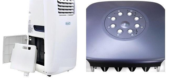 Cool Blast Portable Cooling Units : Newair ac e portable air conditioner w control timer