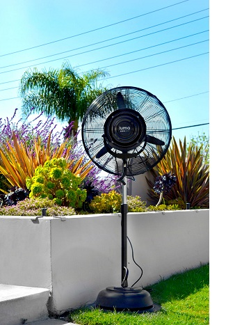 Luma Comfort Corporation 24 in. Outdoor Misting Fan