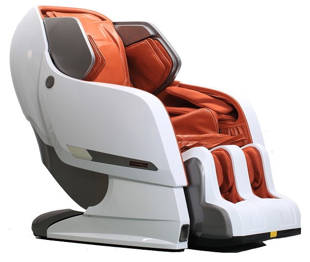 Infinite Therapeutics Infinity IYASHI White / Caramel Reclining Full Body Zero Gravity Massage Chair at Sears.com