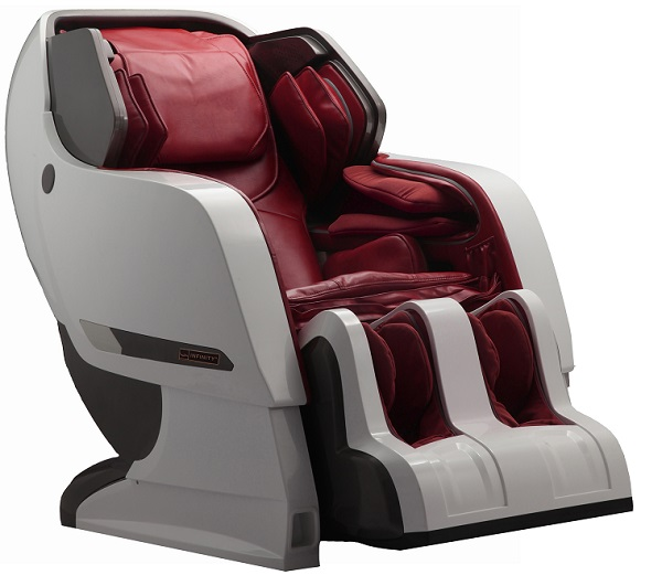 Infinite Therapeutics Infinity IYASHI White / Berry Red Reclining Full Body Zero Gravity Massage Chair at Sears.com