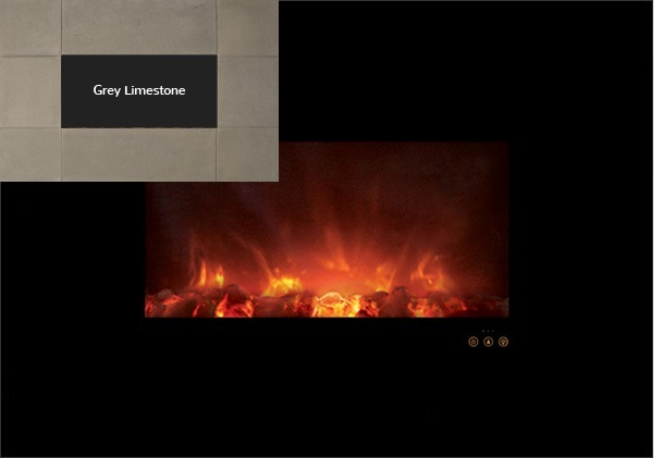 """Modern Flames AL40CLX-GLS 40"""" Ambiance Recessed / Wall Mount Electric Fireplace at Sears.com"""