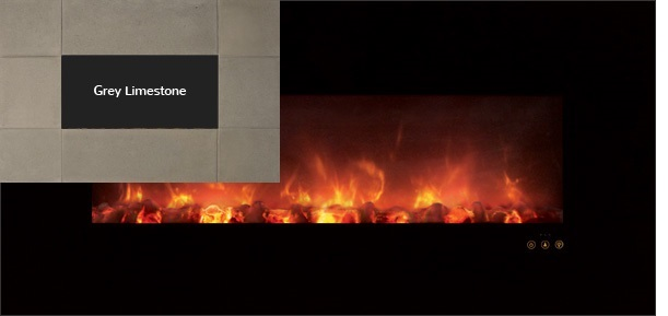 """Modern Flames AL60CLX-GLS 60"""" Ambiance Recessed / Wall Mount Electric Fireplace at Sears.com"""