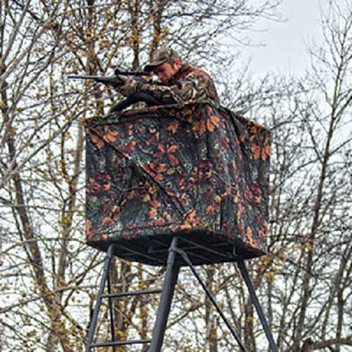 New Rivers Edge Curtain For Perimeter Pod Hunting Ladder