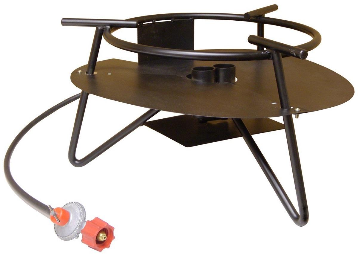 New king kooker c180pkhd double burner outdoor propane jet for Fish cooker burner