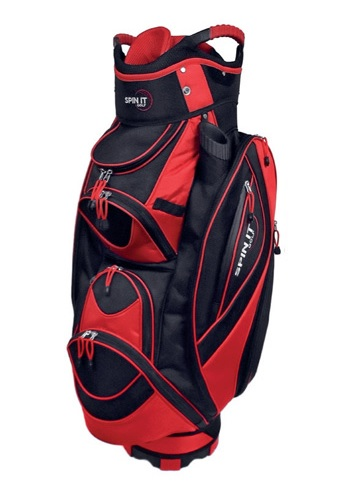 New Spin It Golf Easy Play Red Lightweight 10 Pocket Club