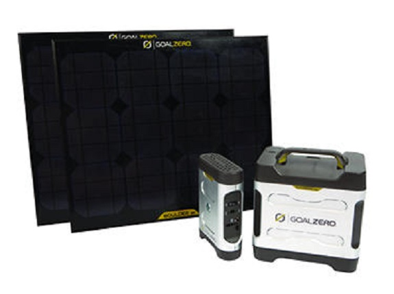 Goal Zero Extreme 350 Explorer Kit w/ Power Pack & 2 Boulder 30 Solar Panels at Sears.com