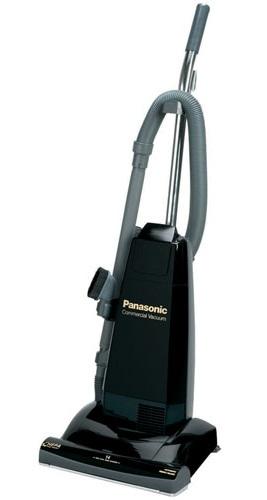 "Panasonic MCV5210 Commercial Upright 14"" 10 AMP 15LB Black Vacuum Cleaner at Sears.com"