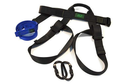 New Zlp Manufacturing Hk0001 Zip Line Adult Harness Kit W