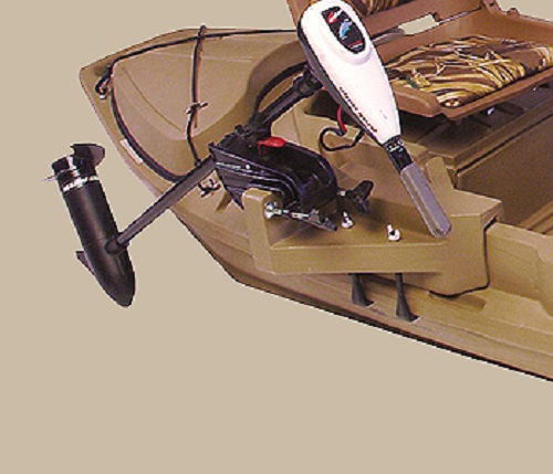 BEAVERTAIL 2000 Series Beavertail 400223 Stealth Duck Hunting Boat Motor Mount at Sears.com