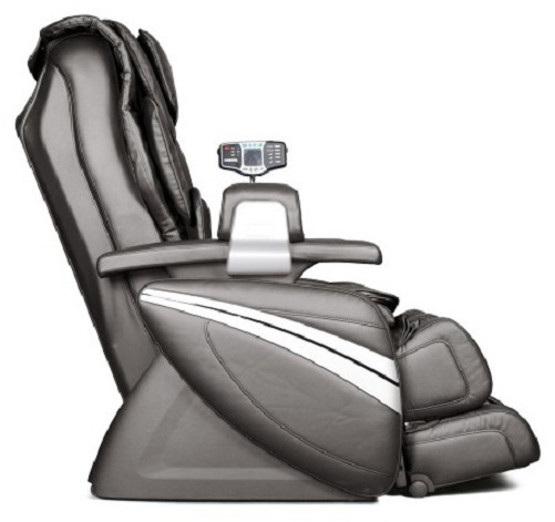 Cozzia EC-366 BLACK LEATHER Full Body Zero Gravity Massage Chair Recliner at Sears.com