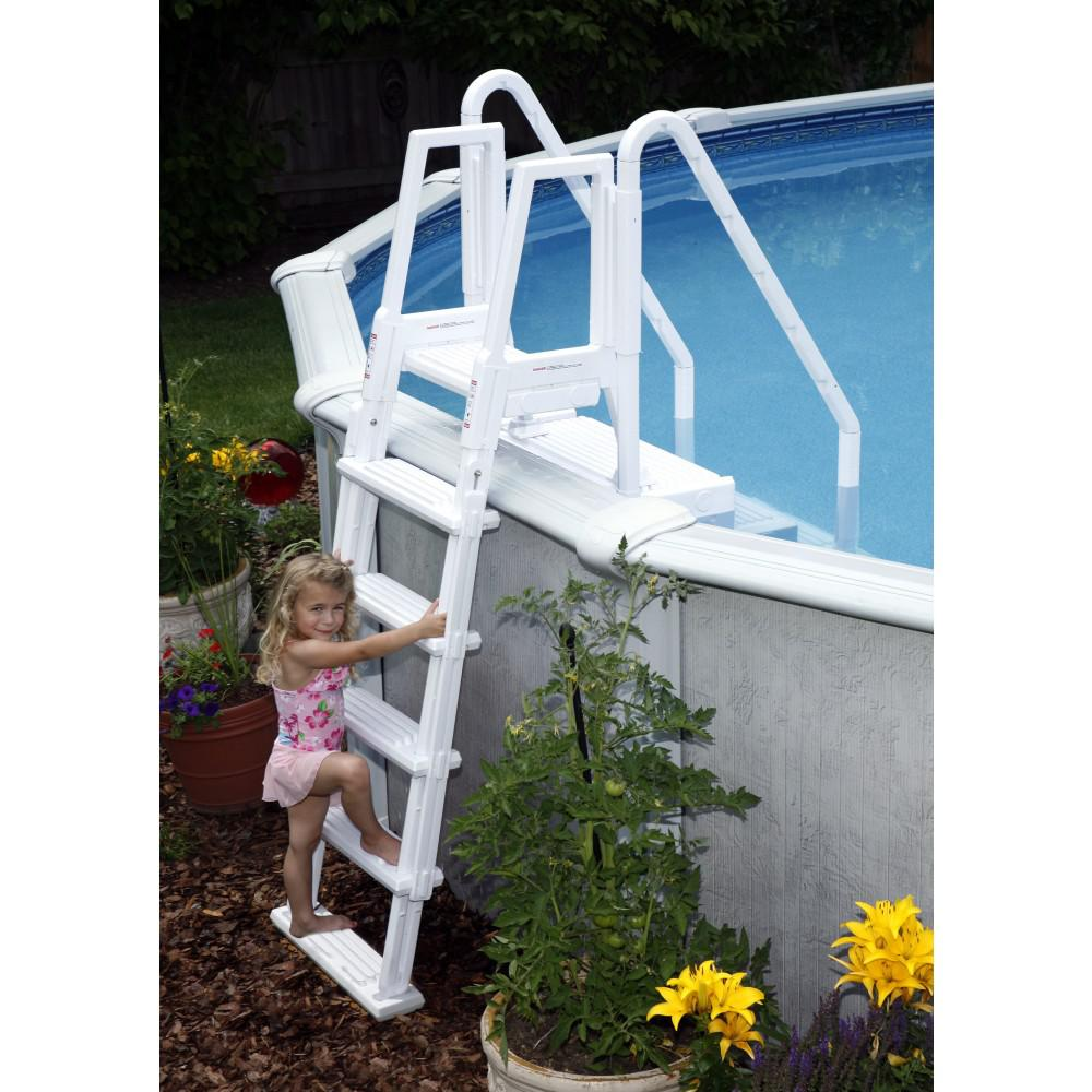 Fence Ladder: BlueWave Products STEPS, LADDERS & FENCING NE126 Easy Pool