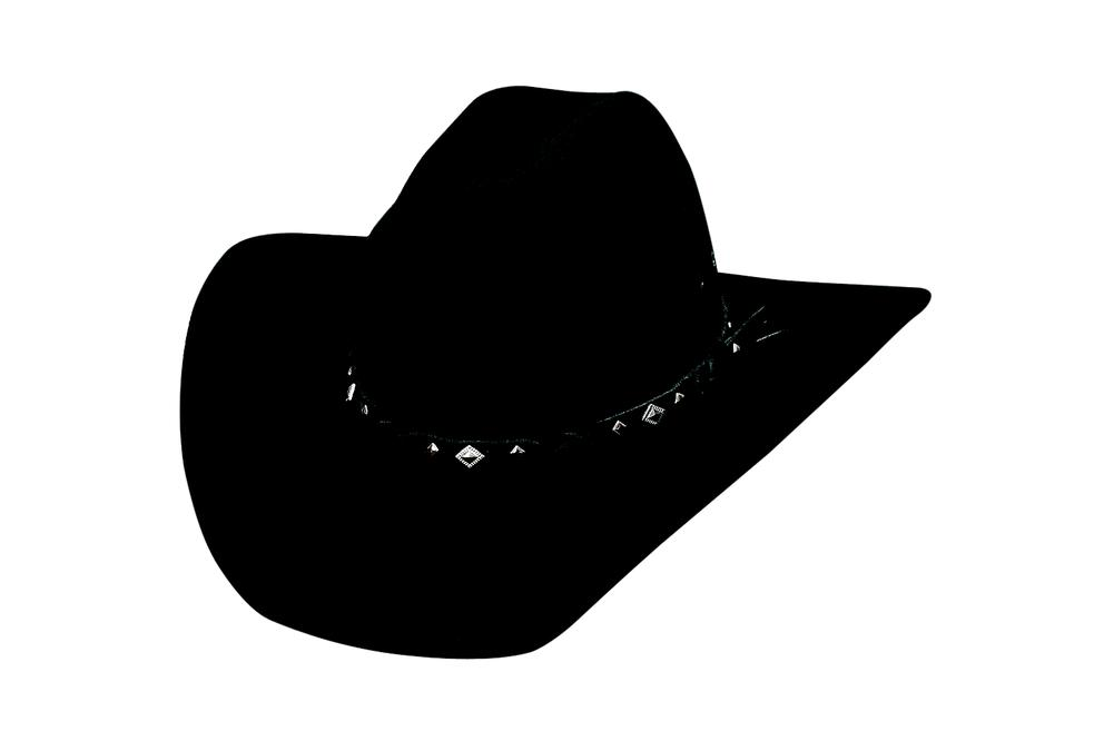 c5f4b981f Details about NEW Bullhide Hats 0601Bl Cowboy Collection Country Heritage  Black Cowboy Hat