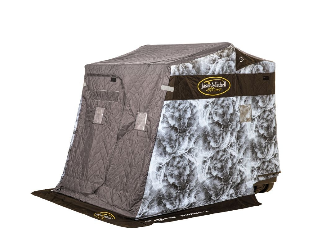 Frabill HQ100 Ice Fishing Shelter, Hub Style , 2-3 Person ...  Ice Fishing Shelters