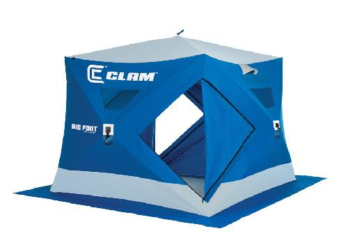Winter Pop Up Shelter : New clam outdoor winter ice fishing pop up shelters