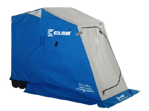 Clam outdoor ice fishing 9679 dave genz legacy series for Dave genz fish trap