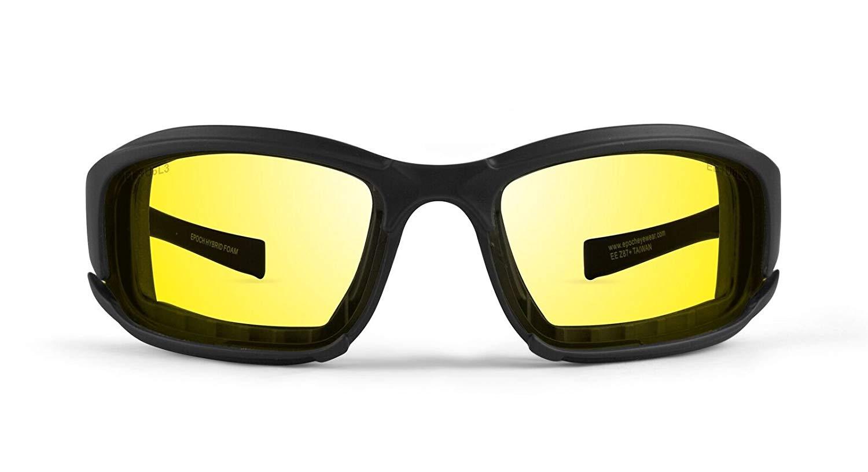New Epoch Eyewear Hybrid Photochromic Ansi Z87.1 Motorcycle Sunglasses