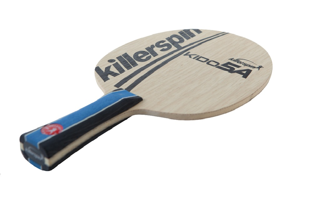 new killerspin kido 5a blade table tennis paddle flared