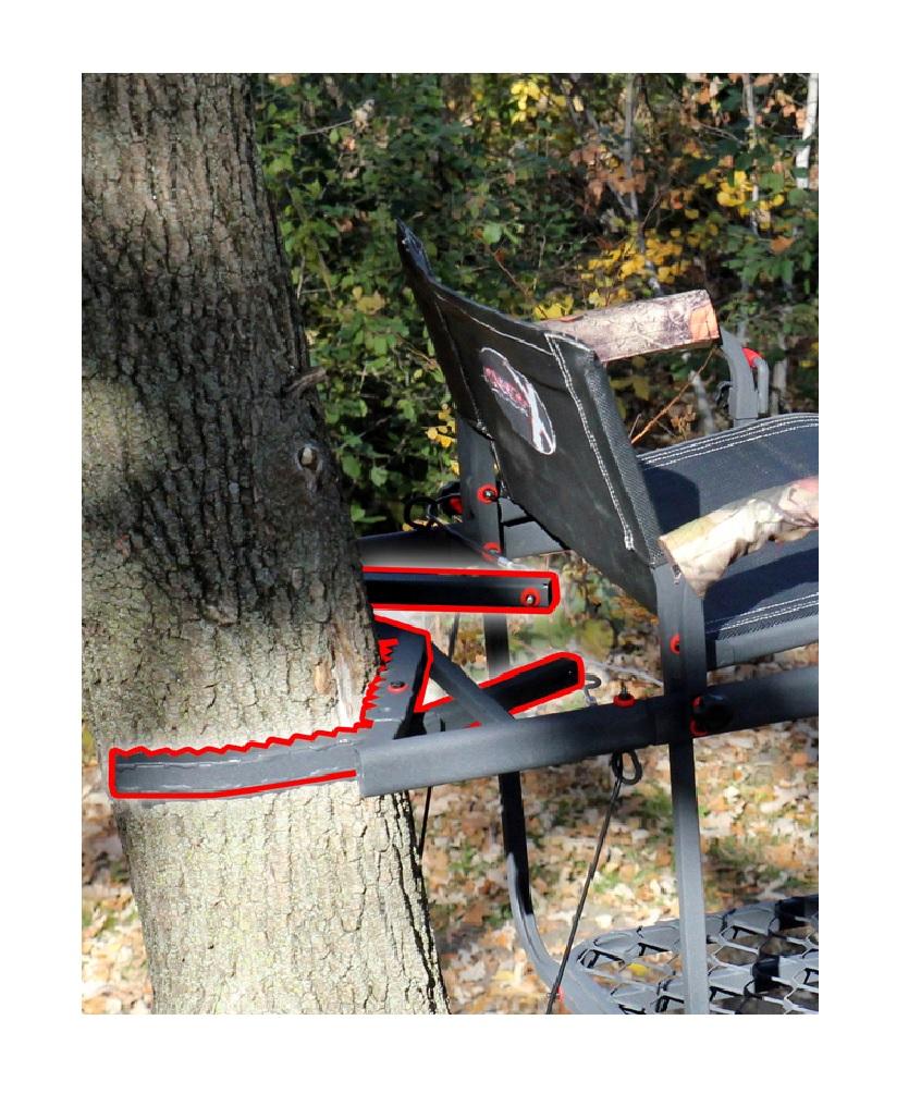 New X Stand Treestands Xsls544 The Duke Steel Single Man