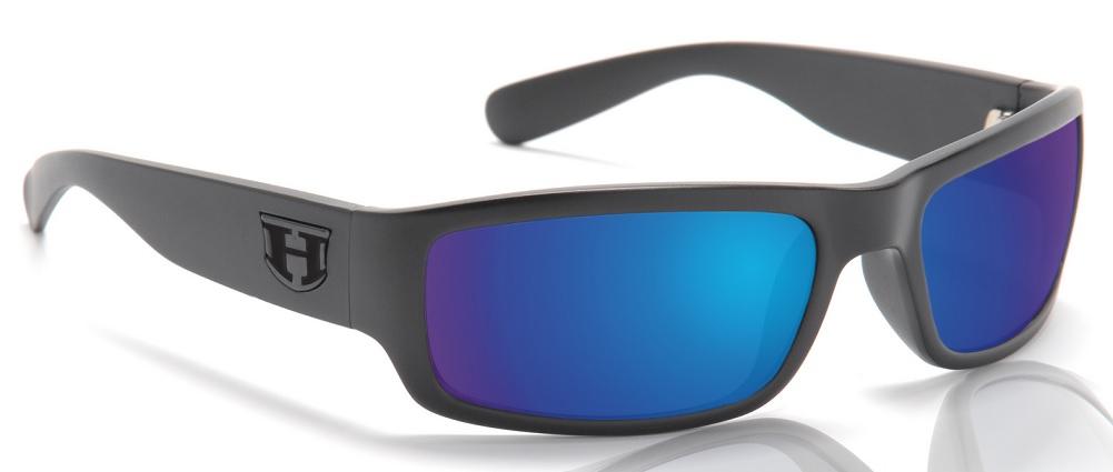 7b983be7e7d Details about Hoven Highway BLACK ON BLACK   TAHOE BLUE POL Impact  Resistant Lens Sunglasses