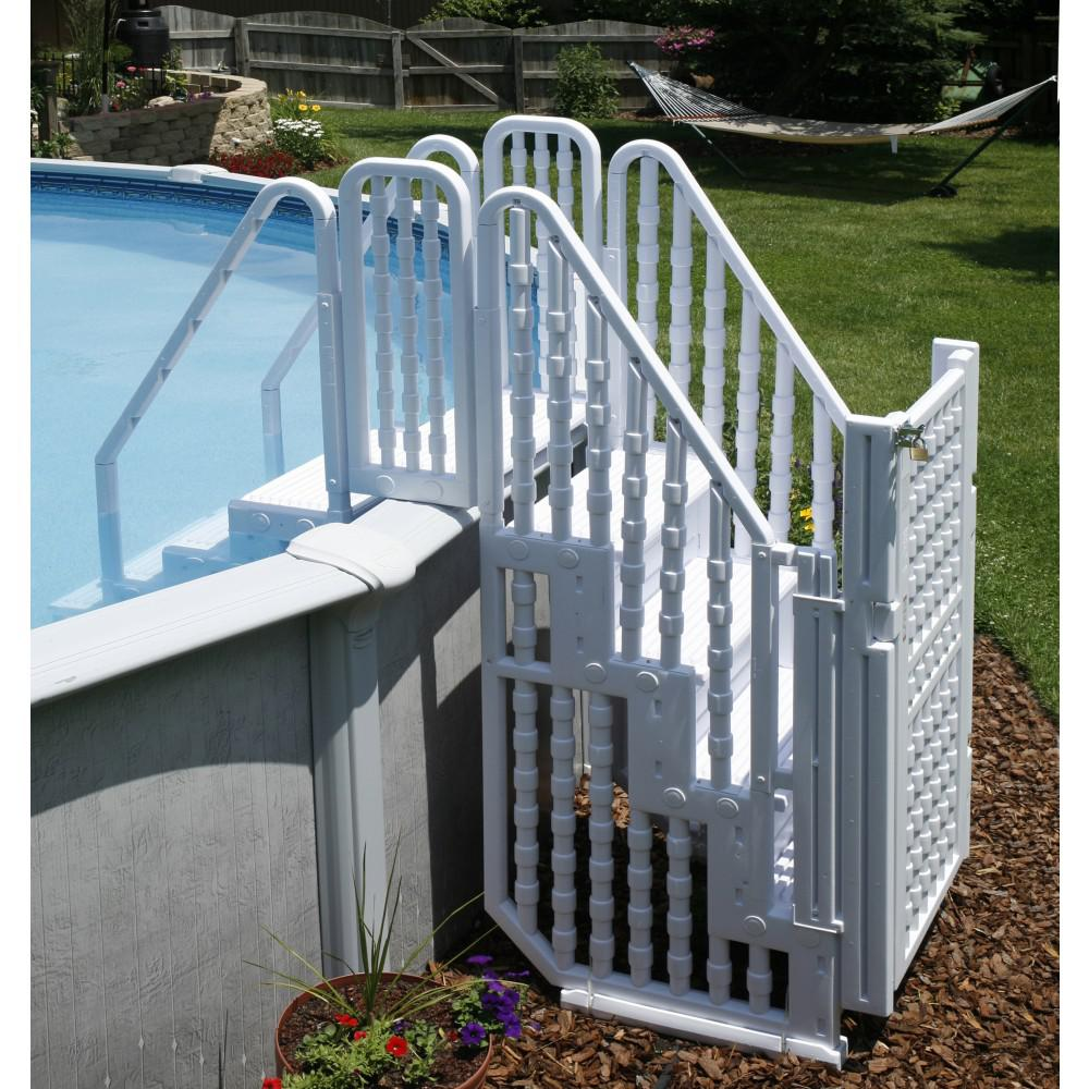 Fence Ladder: NEW BlueWave STEPS, LADDERS & FENCING NE138 Complete Stair