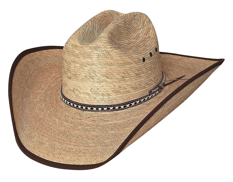 b4a6ec0680ac6 New Bullhide Hats WIDE OPEN 15X Palm Leaf Straw Cowboy Western Hat ...