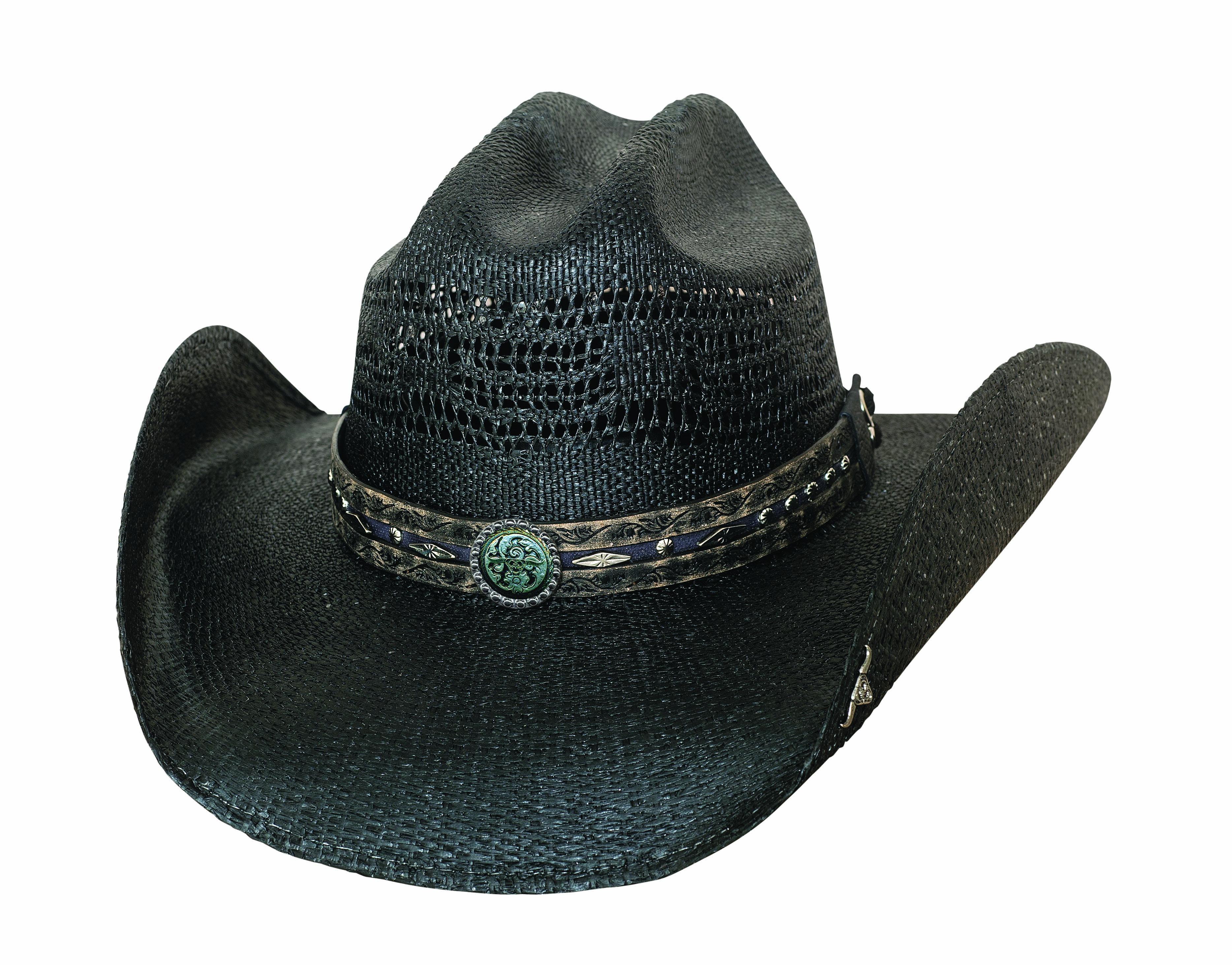 New Bullhide Corral Dust Black Straw Cowboy hat  8b0043c7da2a