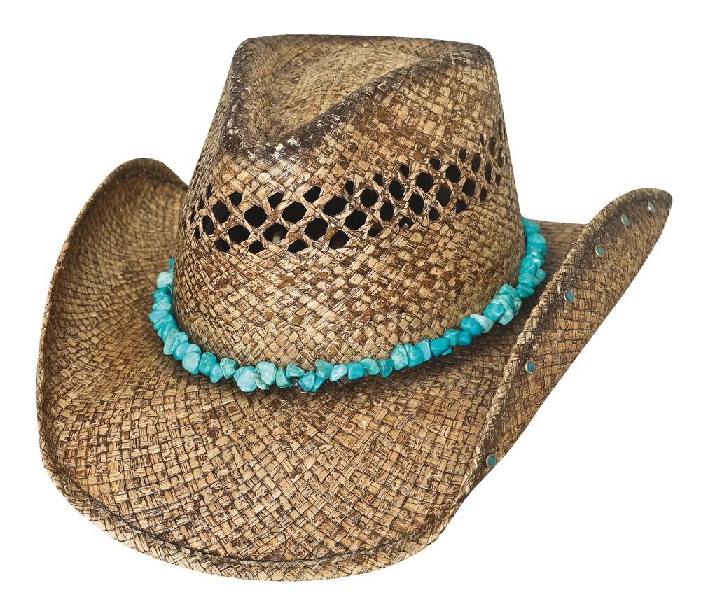 RUN A MUCK COLLECTION - Item Number  2795 - Style YEAR OF SUMMER -  Material  RAFFIA - Brim  3 1 2
