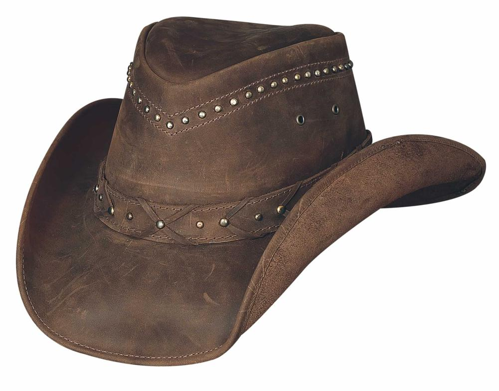 bad96367f0b DOWN UNDER COLLECTION - Item Number  4015BR - Style BURNT DUST - Material   TOP GRAIN LEATHER - Brim  3 3 8