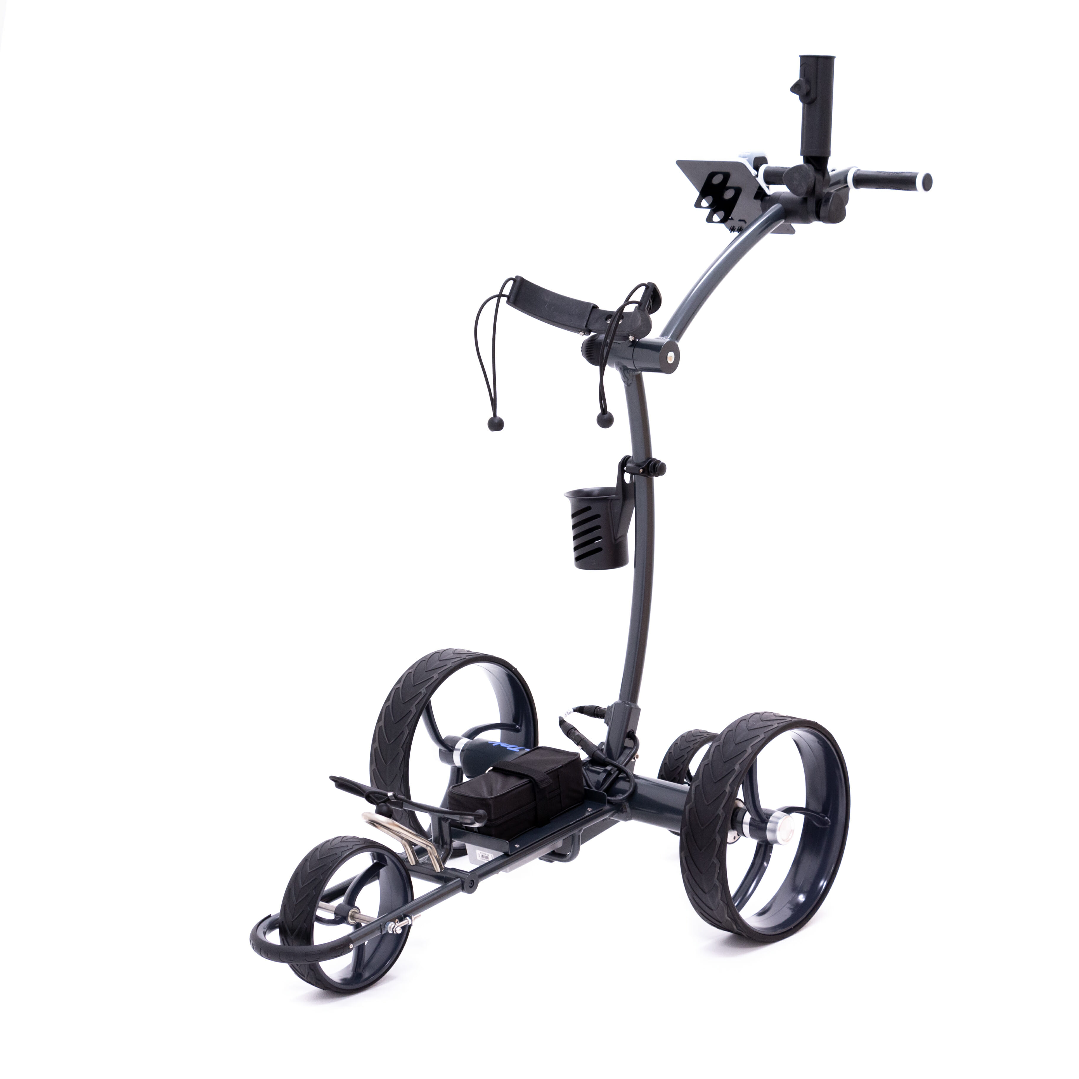 Details about New CartTek 2019 GRi-1500Li Remote Controlled Golf Caddy Gray