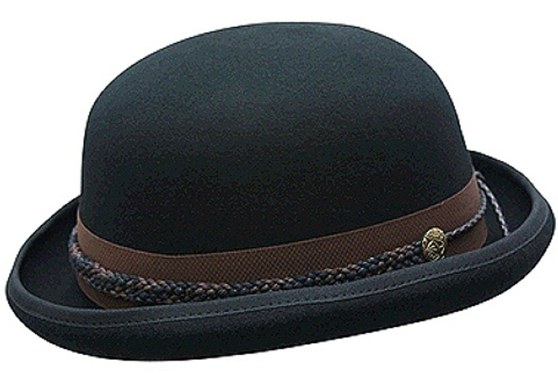 New Conner Hats Men s Carson City Wool Bowler Hat 9bdc212ac3d