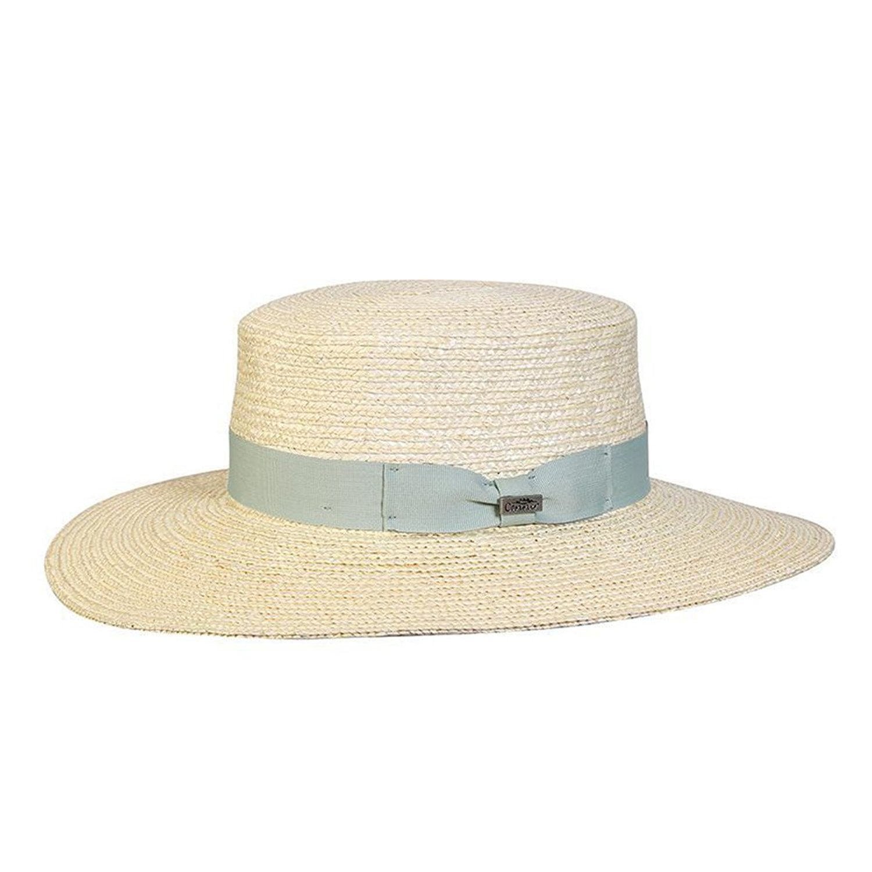 Sea Foam One Size New Conner Hats Women/'s Magnolia Straw Boater Hat