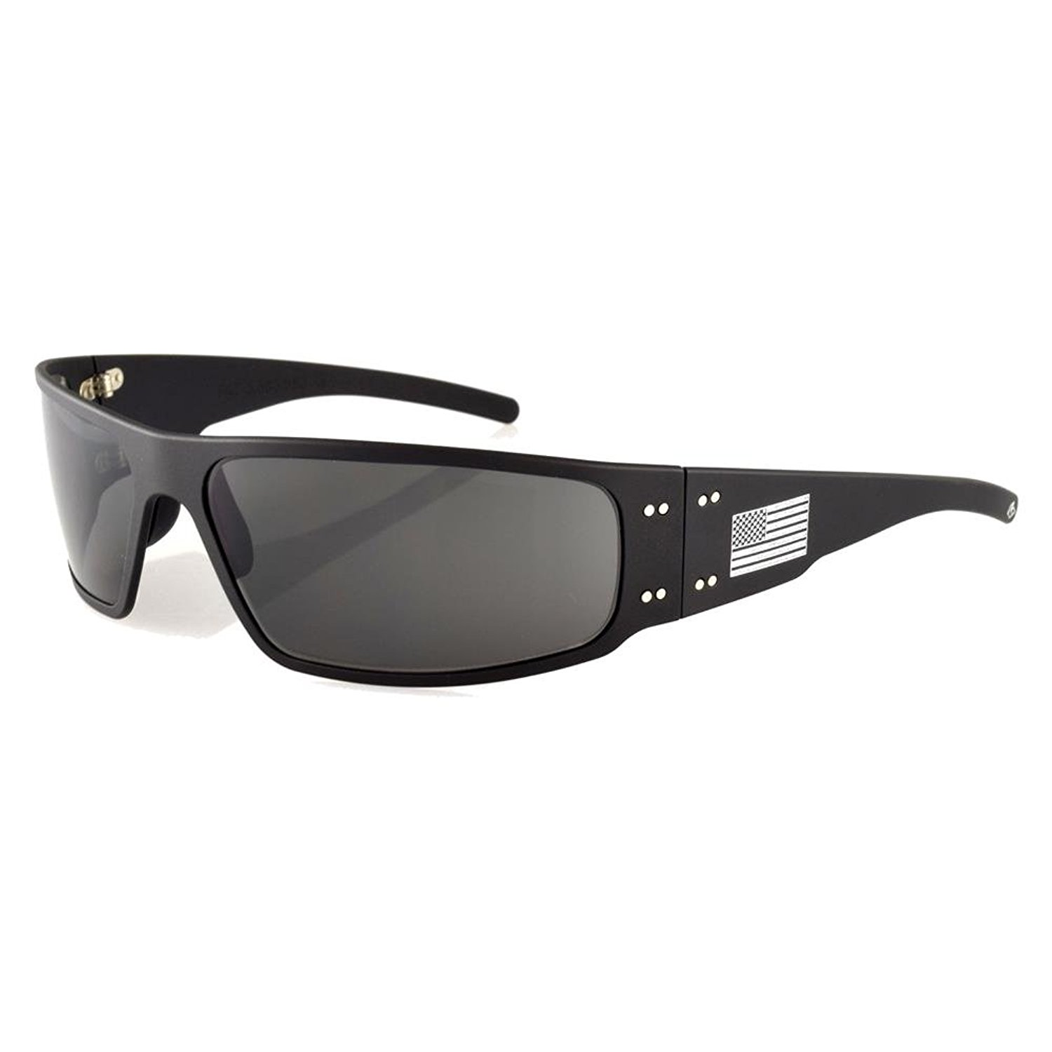 8b081dbf054 Details about New Gatorz Magnum Sunglasses Black Grey and American Flag  with POLARIZED Lens