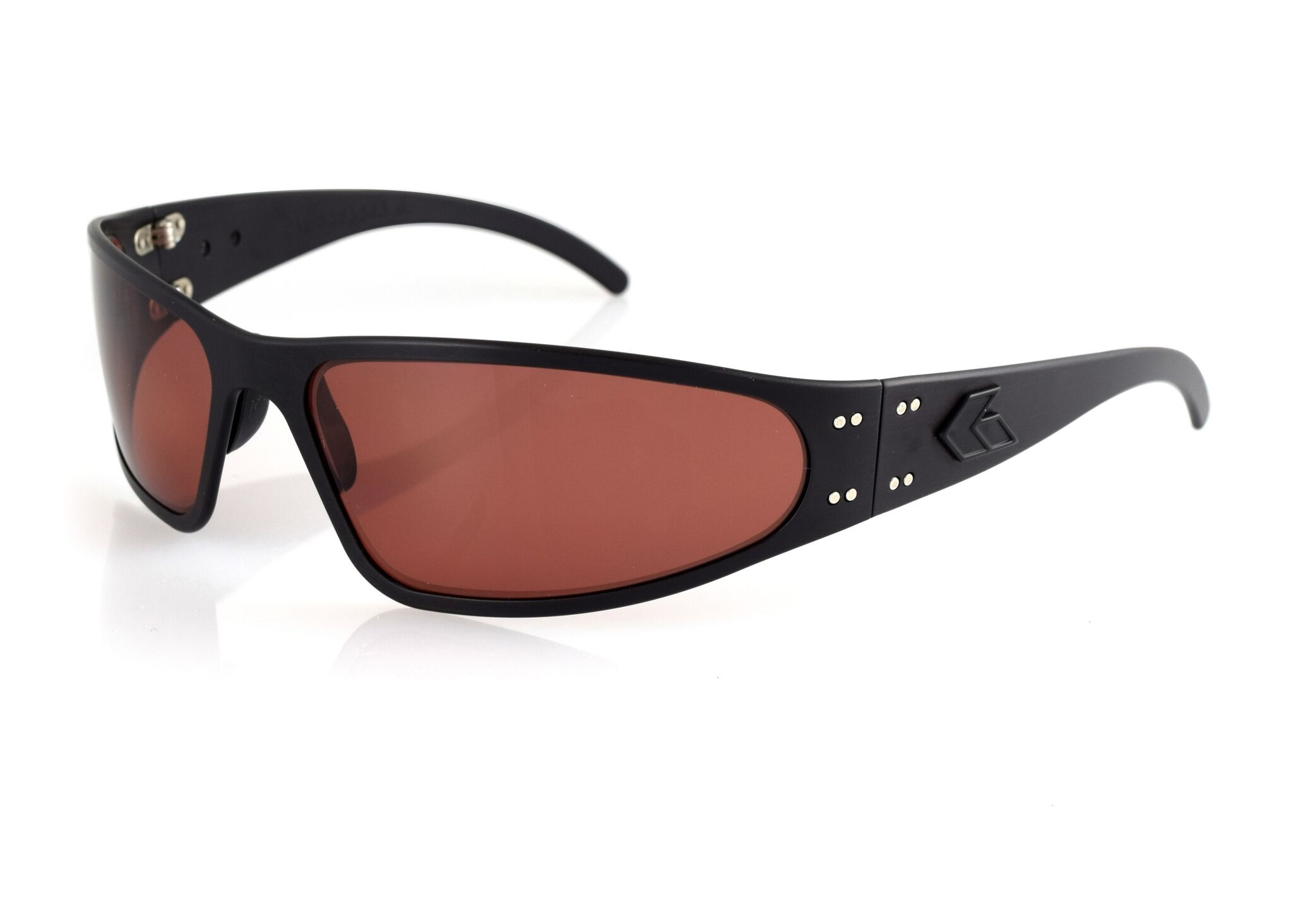 fbf61ed7681 NEW Gatorz WRAMBP09P Wraptor Blackout Frame Sunglasses w  Rose Polarized  Lens