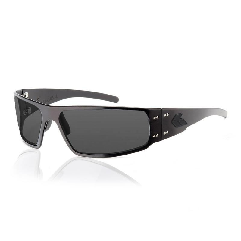 NOS  Gatorz Brushed Aluminum Sunglasses