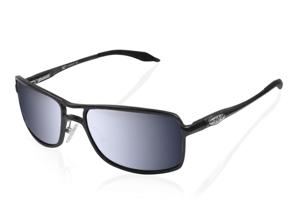 fb297424e6a NEW ICICLES Off The Bike Polarized Pilot Silver Lens Sunglasses with Black  Frame 1 of 4FREE Shipping See More