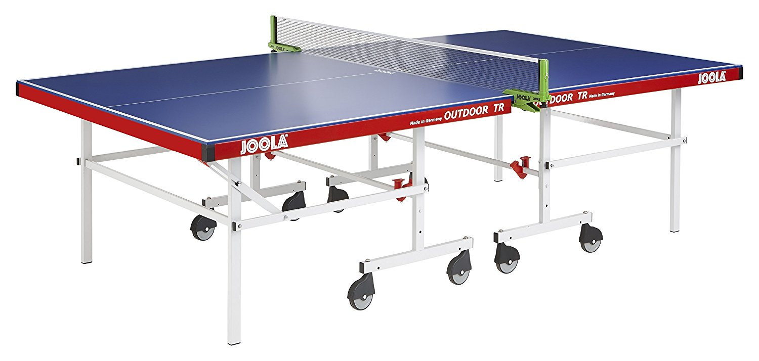 New IPONG_11610 JOOLA Outdoor TR Tennis Table with Net Set with outdoor pong