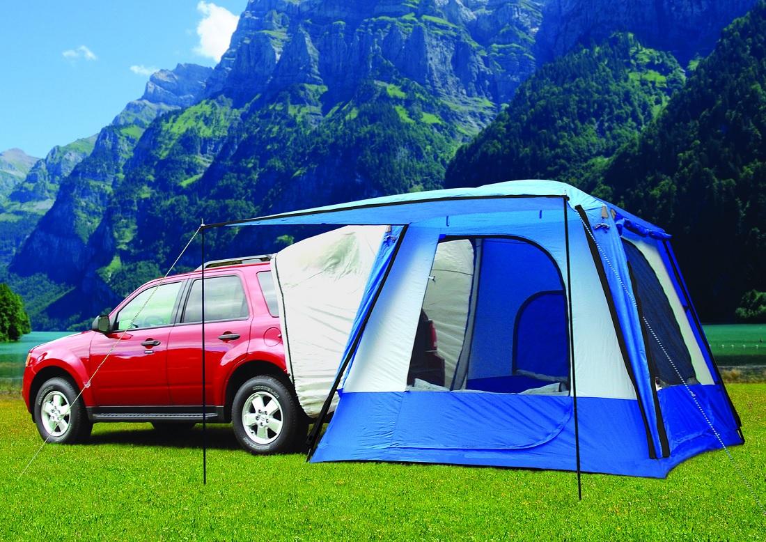 Cargo Box For Suv >> NEW Napier Outdoors Sportz SUV Tent Model 82000 w/ Vehicle Attachment Sleeve | eBay
